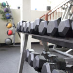 the green microgym belmont dumbbells