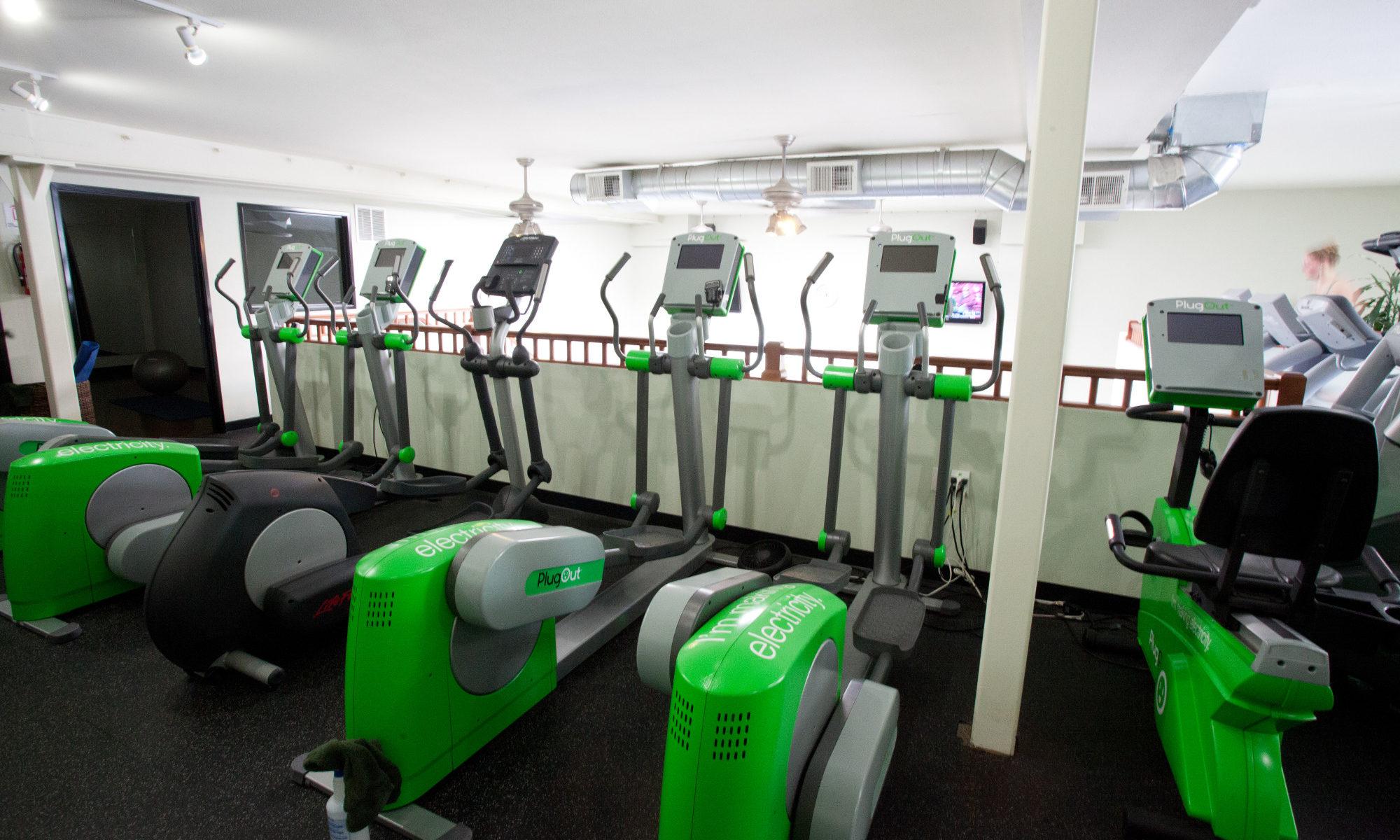 green microgym belmont ellipticals